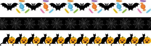 Halloween Fright Ribbon Stock Photo