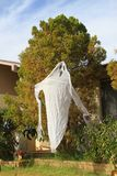 Halloween: front yard ghost Royalty Free Stock Photography