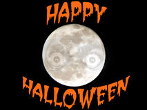 Halloween Full Moon Stock Images