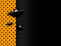 Halloween funny background with place for text Royalty Free Stock Photos