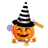 Halloween funny pumpkin Stock Photos
