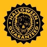 Halloween garanterde Zombieskyddsremsan Arkivbild