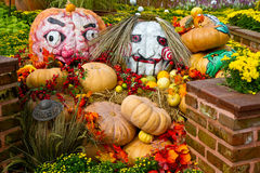 Halloween Garden Royalty Free Stock Image