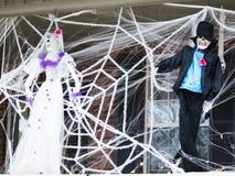 Halloween garneringar Fotografering för Bildbyråer