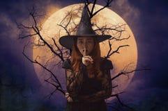 Halloween-geheimzinnigheid concept stock afbeelding