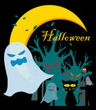 Halloween-Geist Lizenzfreie Stockfotografie