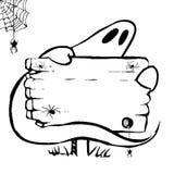 Halloween-Geist Lizenzfreies Stockfoto