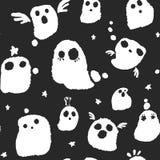 Halloween-Geist-Muster Lizenzfreies Stockbild