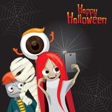 Halloween-Geist Selfie Stockfotos