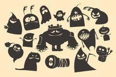 Halloween-Geister. Lizenzfreie Stockfotos