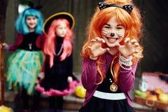Halloween gesture Stock Photos