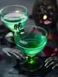 Halloween-Getränk Stockbild