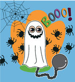 Halloween Ghost vector illustration