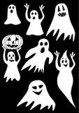 Halloween_ghost stock abbildung