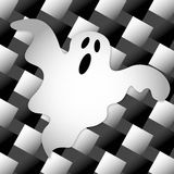 Halloween Ghost. Illustration of a ghost stock illustration