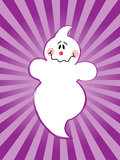 Halloween Ghost Stock Image