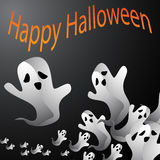 Halloween Ghost Background Stock Photos