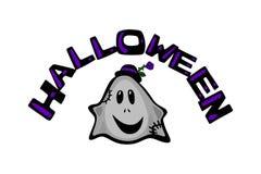 Halloween and Ghost .Cartoon comical color avatar vector illustration