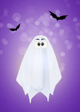 Halloween ghost cartoon Stock Photography