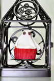 Halloween ghost  cupcake Royalty Free Stock Photo