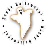 Halloween Ghost Design Stock Photography