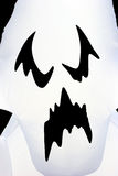 Halloween ghost face Stock Image