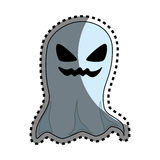 Halloween ghost isolated icon Royalty Free Stock Images