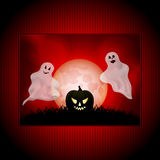 Halloween ghost panel background Stock Photos