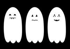 Halloween ghost set Royalty Free Stock Photos