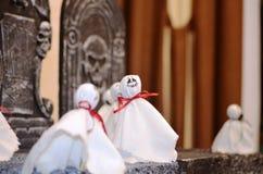 Halloween ghosts fotografie stock