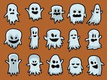 Halloween ghosts Imagens de Stock