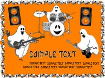 Halloween Ghosts. Royalty Free Stock Image