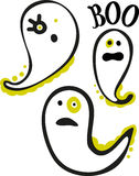 Halloween Ghosts Boo Royalty Free Stock Photography