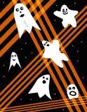 Halloween Ghosts royalty free illustration