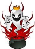 Halloween ghosts potion illustration royalty free illustration