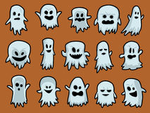 Halloween Ghosts Stock Images
