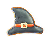 Halloween gingerbread cookie Royalty Free Stock Photography