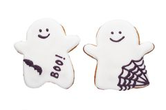 Halloween gingerbread Royalty Free Stock Photos