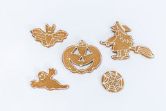 Halloween gingerbread. Royalty Free Stock Images