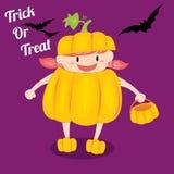 Halloween girl Royalty Free Stock Photo