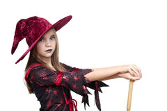 Halloween girl Royalty Free Stock Photography