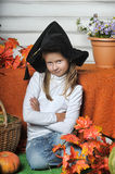 Halloween girl Royalty Free Stock Images