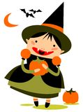 Halloween girl Royalty Free Stock Photography