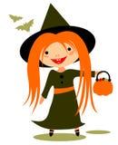 Halloween girl Stock Photo