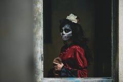 Halloween girl royalty free stock photos