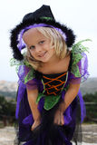 Halloween girl witch Royalty Free Stock Photography