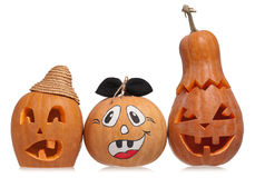 Halloween gourd Royalty Free Stock Photos