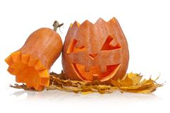 Halloween gourd Stock Images