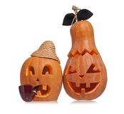 Halloween gourds Royalty Free Stock Photo