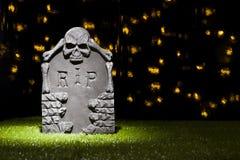 Halloween-Grabstein Stockbilder